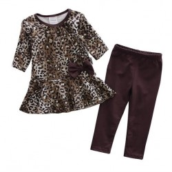 Leopard Printed Dress Legging