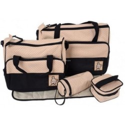 MULTI FUNCTION MUMMY BAG: BLACK