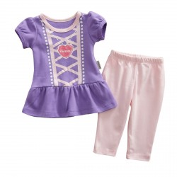 D146-Princess Baby Dress Legging