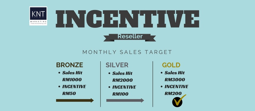 Reseller Incentive